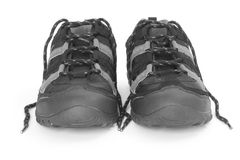 Sport shoes with lace Stock Images