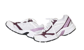 Sport Shoes in movement Royalty Free Stock Photography