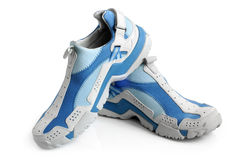 Sport shoes pair royalty free stock photography