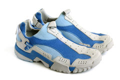 Sport shoes pair Stock Image
