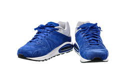 Sport shoes on white background with clipping path Royalty Free Stock Images