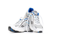 Sport shoes  on white Stock Image