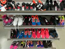 Colorful sport shoes Royalty Free Stock Photography