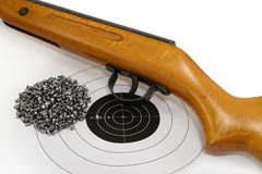 Sport shooting equipment Royalty Free Stock Images