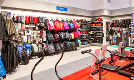 Sport shop Stock Photography