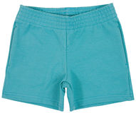 Sport shorts. Isolated on white Royalty Free Stock Images