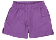 Sport shorts. Isolated on white background. Stock Photos