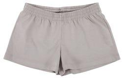 Sport shorts. Isolated on white background. Stock Photo