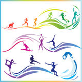 Sport skills Stock Photo