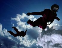 Sport is in sky royalty free stock image