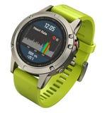 Sport slim horloge Royalty-vrije Stock Afbeeldingen