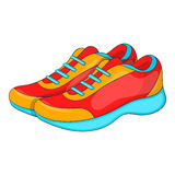 Sport sneakers icon, cartoon style Stock Photo