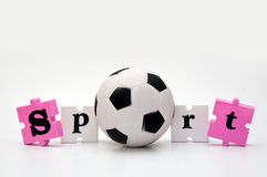 Sport soccer ball Royalty Free Stock Photo