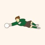 Sport soccer player theme elements vector,eps. Vector illustration file Stock Photos