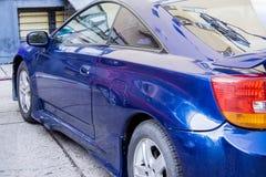 Sport som springer Toyota Celica Royaltyfri Bild