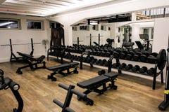 Sport sprawności fizycznej gym Zdjęcia Royalty Free