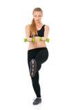 Sport sprawności fizycznej kobieta Fotografia Royalty Free