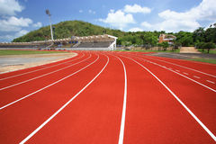 Sport stadium. Royalty Free Stock Image