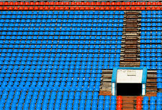 Sport stadium background Royalty Free Stock Photography