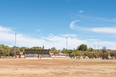 Sport stadium in Koffiefontein Royalty Free Stock Images