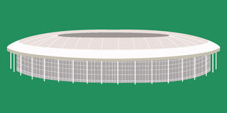 Sport stadium moscow Stock Photo