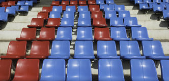 Sport stadium seat Stock Photography