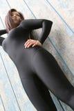 sport stanowisko dziewczyny Fotografia Stock