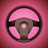 Sport steering wheel Royalty Free Stock Photos