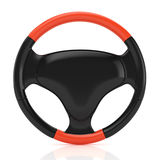 Sport steering wheel Stock Photos