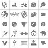 Sport stock silhouettes collection. Sport stock silhouettes vector collection Stock Photo