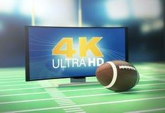 Sport sul formato 4k Immagini Stock