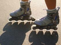 Sport sulle rotelle Fotografie Stock Libere da Diritti