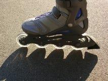 Sport sulle rotelle fotografia stock