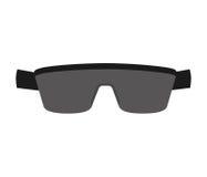 Sport sunglasses isolated icon. Illustration design royalty free stock photo