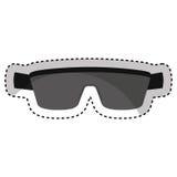 Sport sunglasses isolated icon. Illustration design stock photo