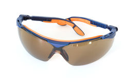 Sport sunglasses isolated on white Stock Photography