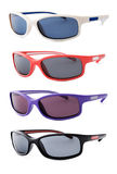 Sport sunglasses isolated on white background Royalty Free Stock Photos
