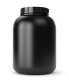 Sport supplements can Stock Photos