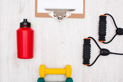Sport supplies Royalty Free Stock Image