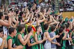 Sport supporters Stock Photography