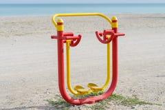 Sport sur la plage Photos stock