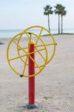 Sport sur la plage Image libre de droits