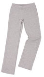 Sport sweatpants isolated on white background Royalty Free Stock Image
