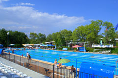 Sport swimming pool Stock Images