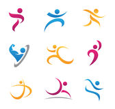 Sport symbol and icon Stock Images