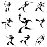 Sport symbols Royalty Free Stock Photography