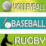 Sport symbols Royalty Free Stock Image