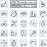 Sport Symbols Icons Stock Image