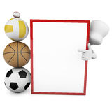 Sport tactics Stock Image