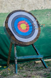 Sport Target for Bow and Arrow royalty free stock images